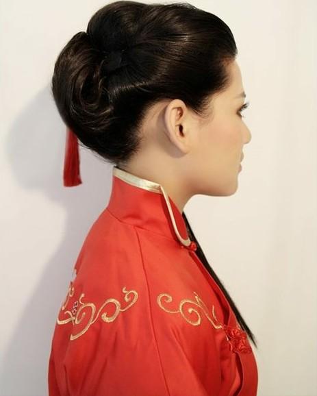 中式新娘发型 哪款是你的最爱图片