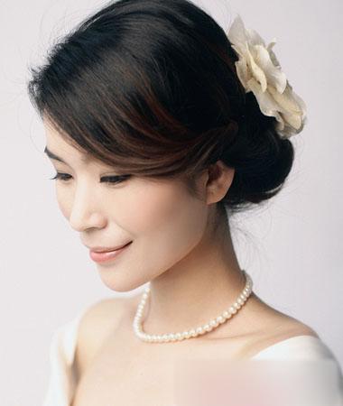复古风新娘发型秀 铭记一生的浪漫(2)_妆面赏析_影楼