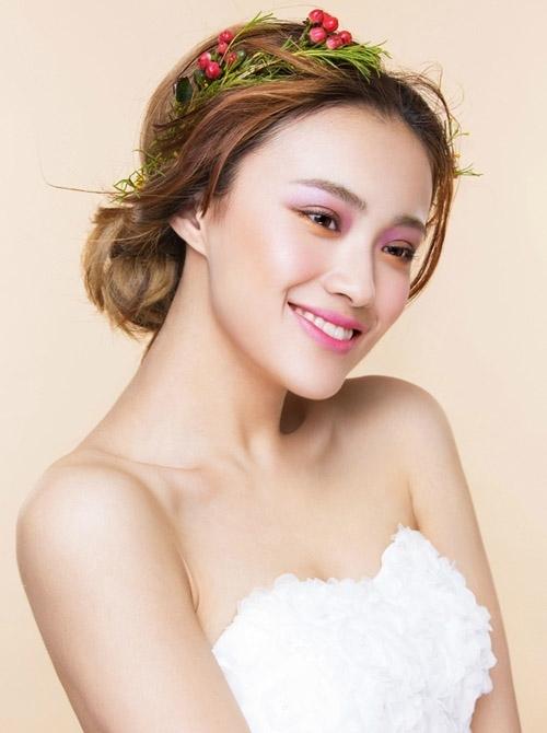 花漾新娘造型 焕发小清新活力