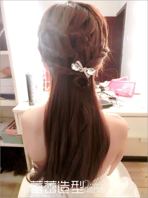 新娘编发发型