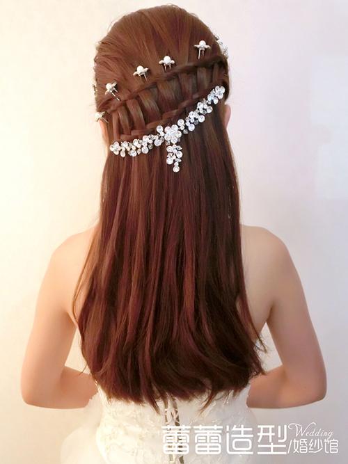 清新新娘编发发型 哪款是你的最爱