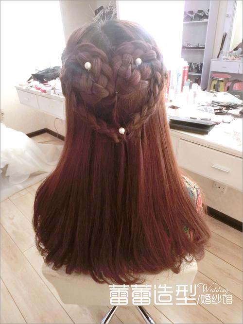 清新新娘编发发型 哪款是你的最爱(3)