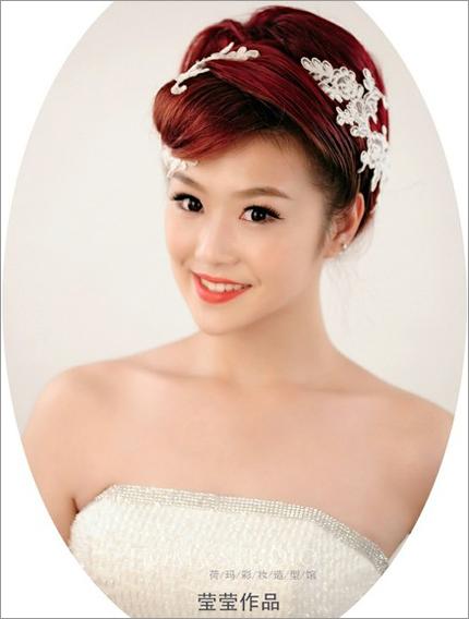最新新娘化妆造型 演绎低调的奢华_妆面赏析_影楼化妆