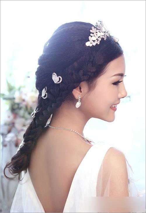 新娘化妆造型;; 2014影楼新娘造型2014影楼新娘发型2014最新影楼造型
