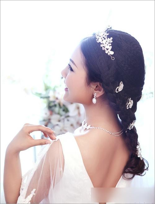 韩式新娘妆容赏析 尽显温婉柔情图片