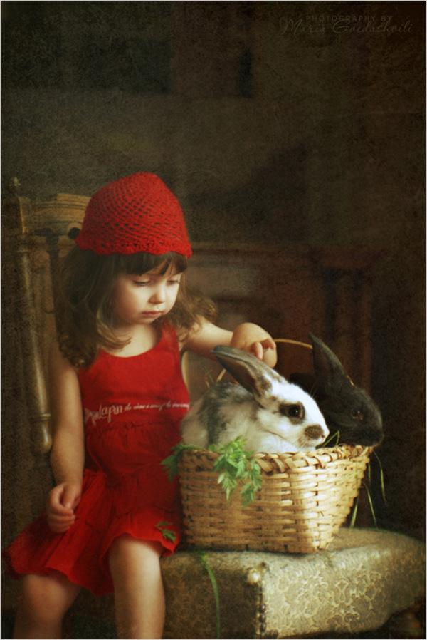 復古溫馨的兒童攝影:寶貝