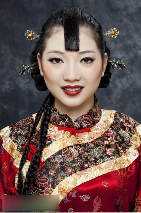 中式新娘造型赏析 演绎传统的美图片