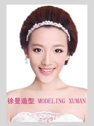 韩式新娘造型步骤图 唯美形象深入人心(4)