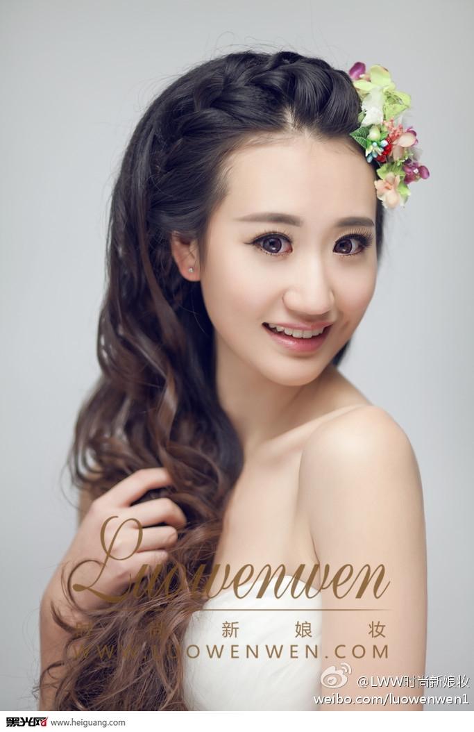 韩式新娘造型 化妆造型