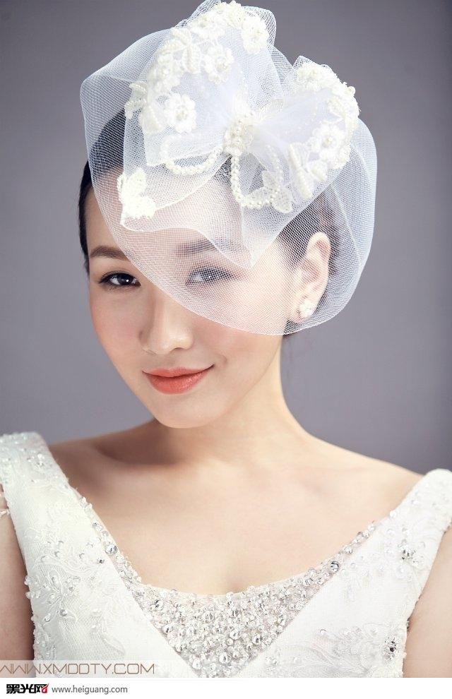 新娘造型 创意手工头饰