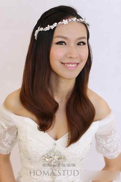多款新娘发型赏析 展现不一样的自己