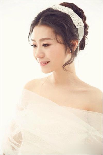 新娘白纱造型 尽显新娘朦胧之美图片