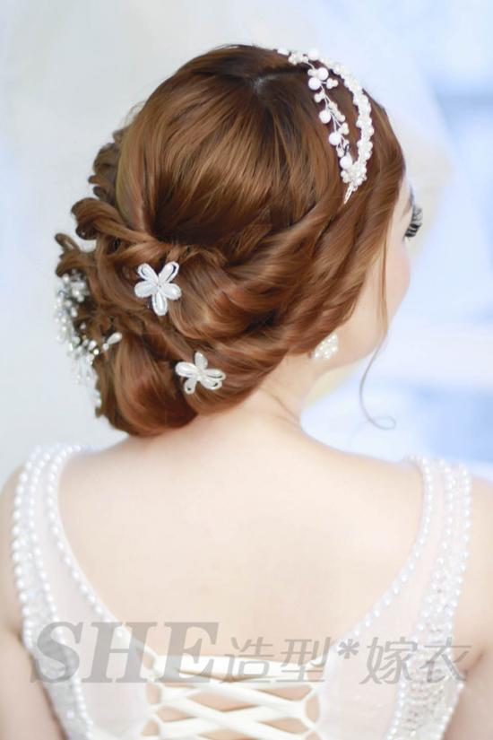 韩式新娘发型 或甜美清新亦或端庄大气图片