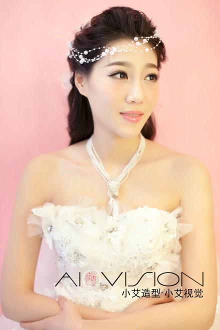 2014最新新娘妆容造型图片图片