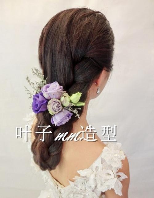 5款清新花样新娘发型 美丽依旧