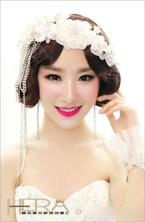 新娘化妆造型
