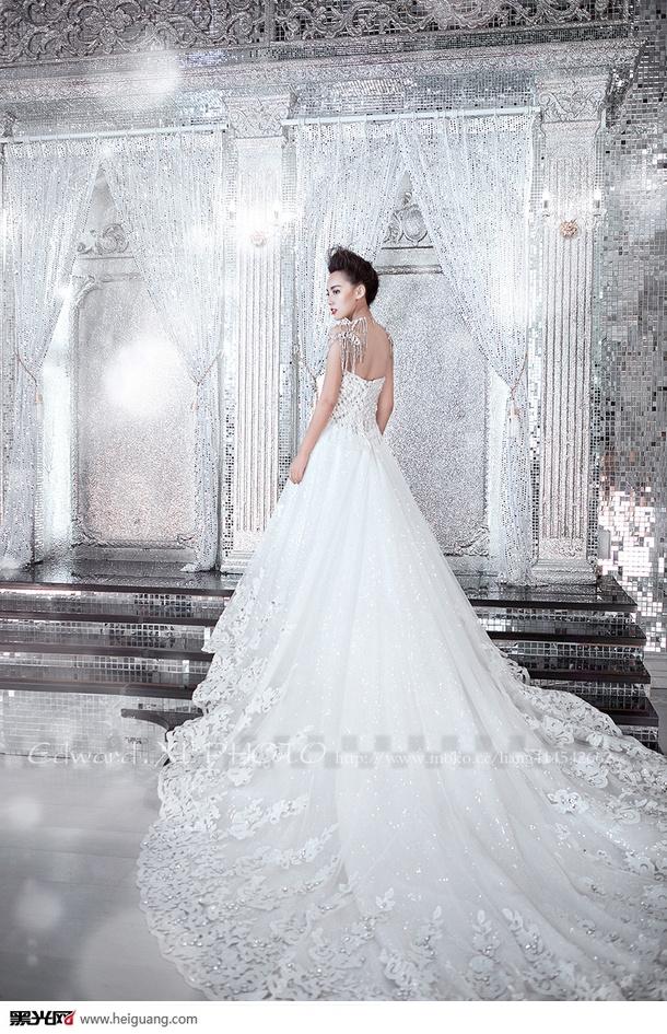 时尚新娘 婚纱照