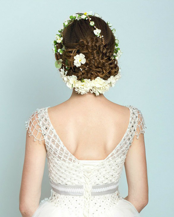 2014新娘婚纱造型 迎接属于自己的春天