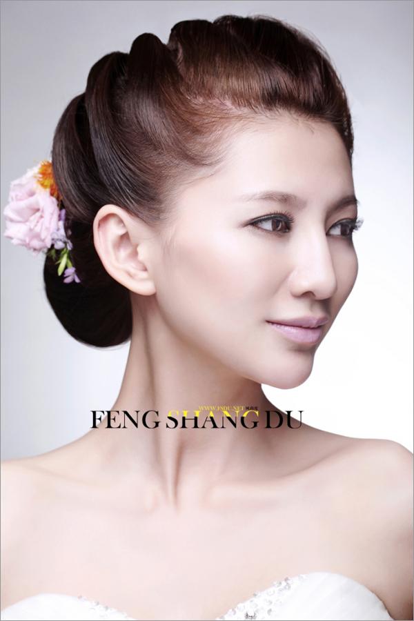 韩式经典新娘造型 塑造优雅卷曲的美感(二)图片
