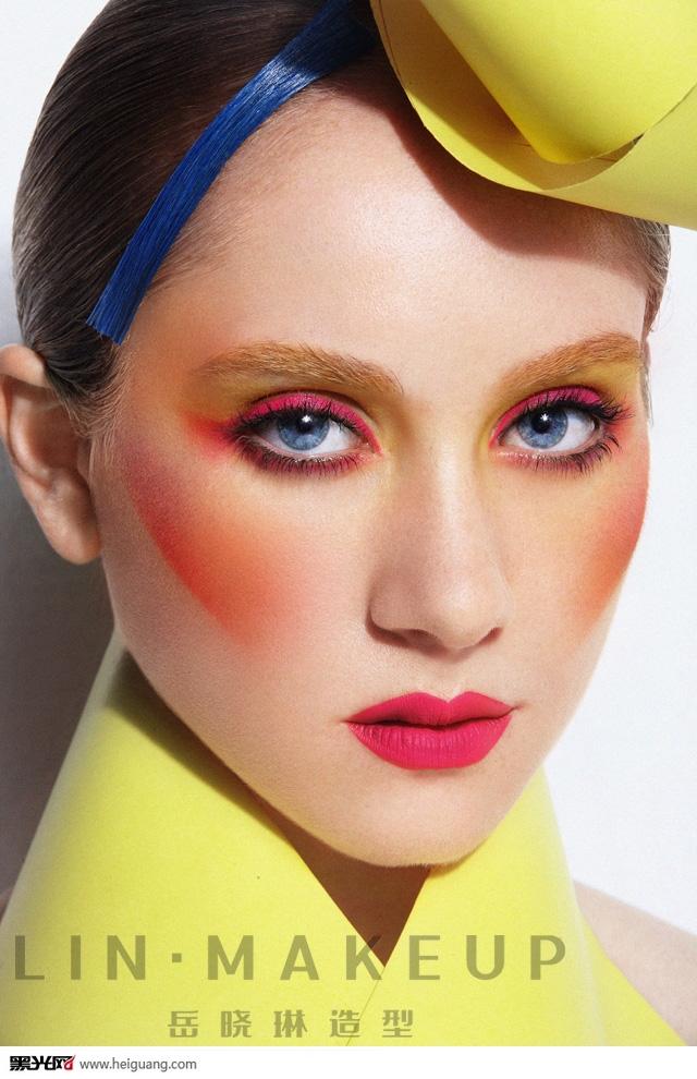 秋冬流行趋势---时尚创意彩妆