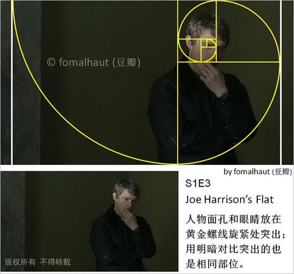 摄影构图:看《神探夏洛克》学黄金分割法构图(8)