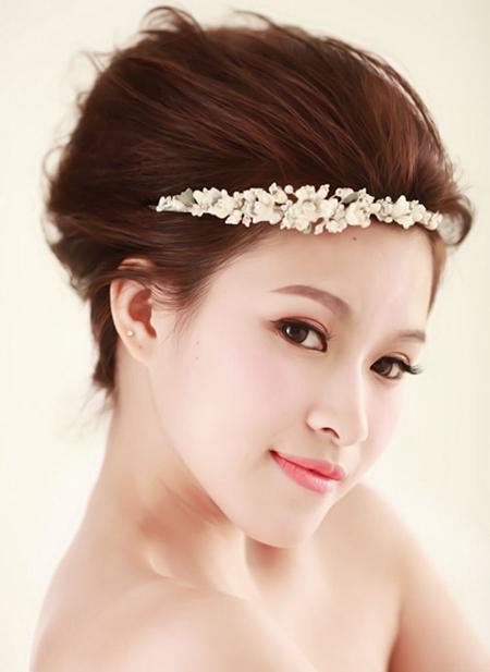 最新新娘造型装扮 彰显新娘完美气质