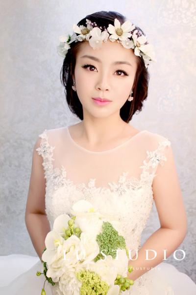 2014新娘优雅造型 做最美丽的公主(2)_妆面赏析_影楼
