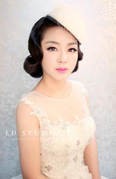 【纽约摄影欣赏】2014新娘优雅造型 做最美丽的公主