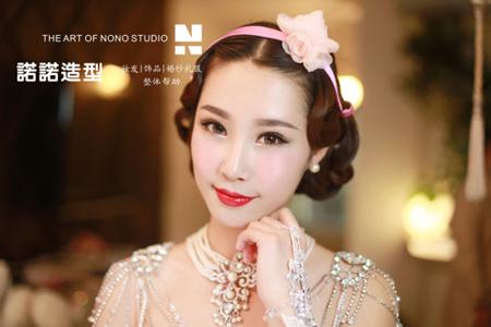 新娘化妆造型精选 做个完美新娘_妆面赏析_影楼化妆
