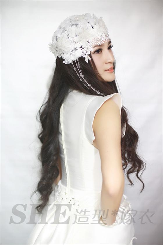 2014新娘长发发型 婉约迷人(3)