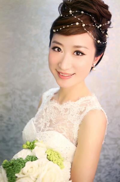 最新新娘发型推荐 幸福生活继续上演(2)
