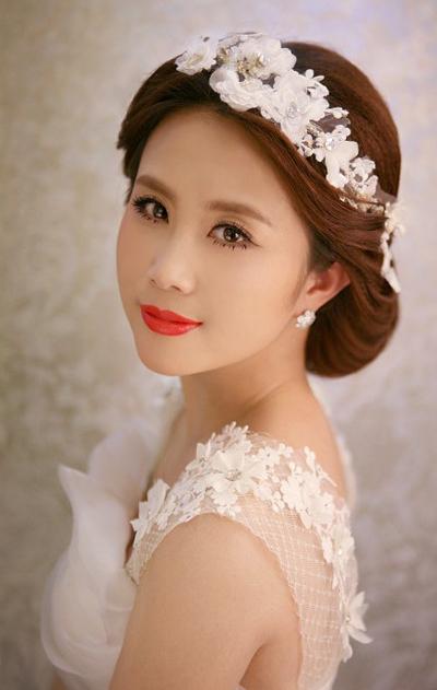 最新新娘发型推荐 幸福生活继续上演