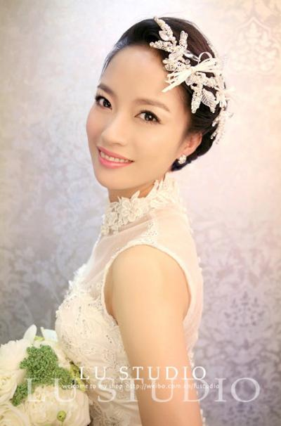最新新娘发型推荐 幸福生活继续上演(3)