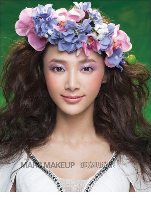 2014新娘化妆造型 演绎新娘另一种美图片
