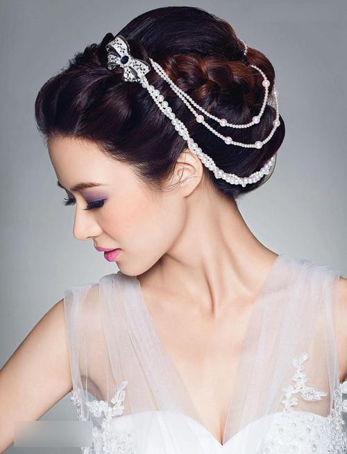 2014新娘造型图片 巧用珠宝打造奢华梦想
