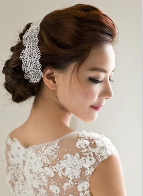 新娘发型图片欣赏 见证最温馨的时刻图片