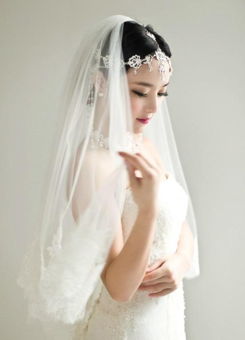 新娘发型图片欣赏 见证最温馨的时刻(4)
