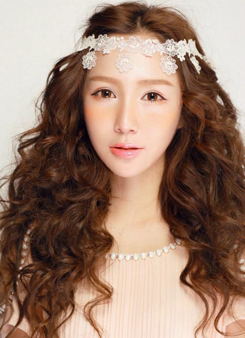 7款日系新娘化妆造型 变身萌妹惹人爱图片