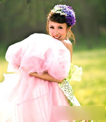 韩式新娘发型 展现不一样的自己图片