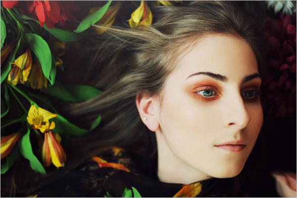 ruth情绪人像摄影:少女的秘密花园