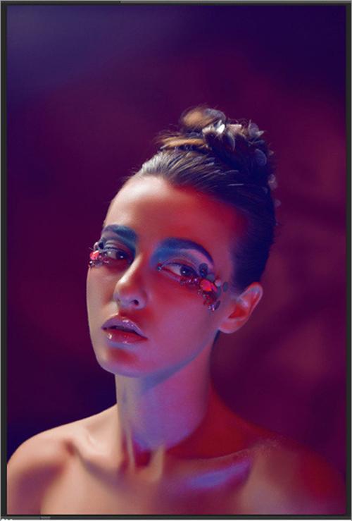2014彩妆妆面造型 震撼你的视觉图片