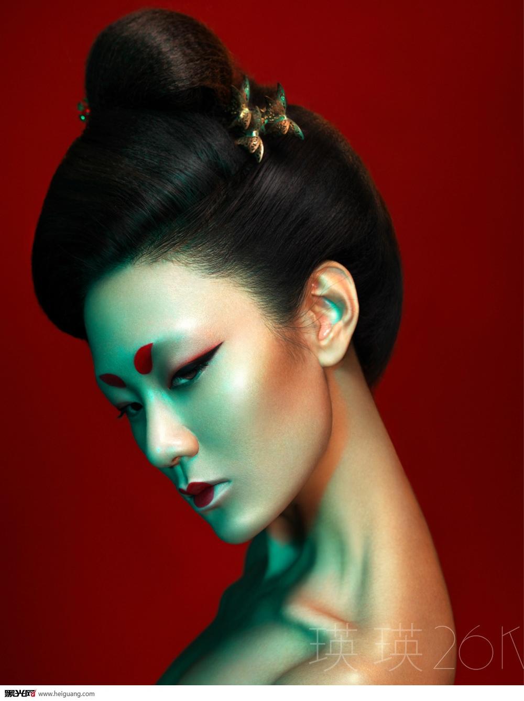 时尚中国风(2)_化妆造型图片