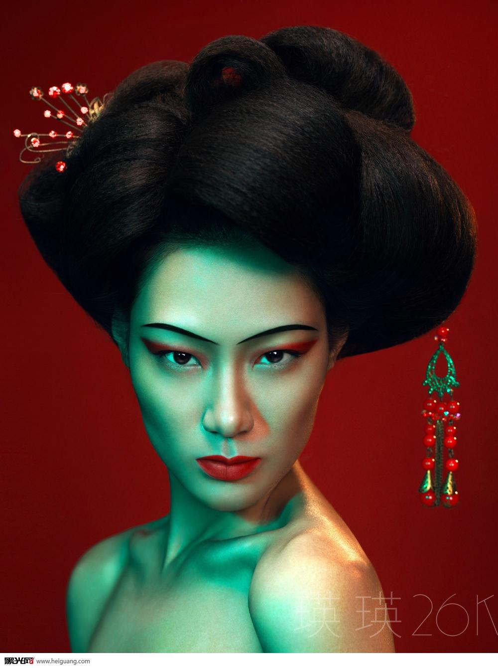 时尚中国风 化妆造型