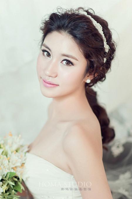 2014新娘最上镜化妆造型组图欣赏