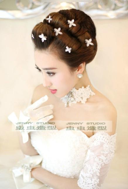 2014欧式新娘造型 打造不同的气质装扮