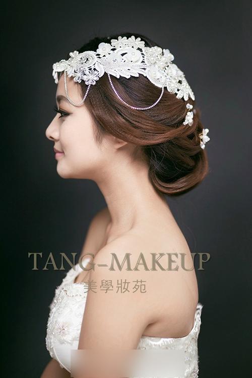 韩式新娘发型推荐 美丽继续上演