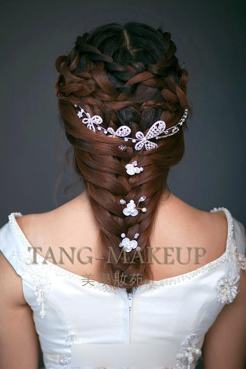 韩式新娘发型推荐 美丽继续上演(2)