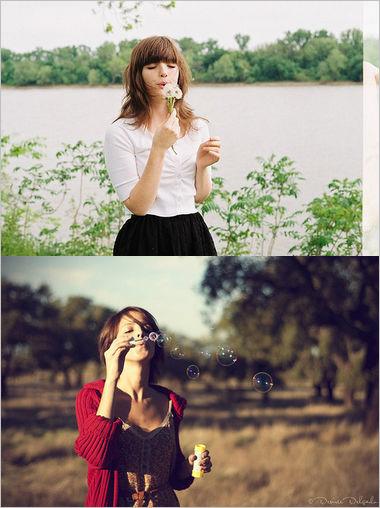 写真摄影pose示范 19招轻松拍出文艺范妹子