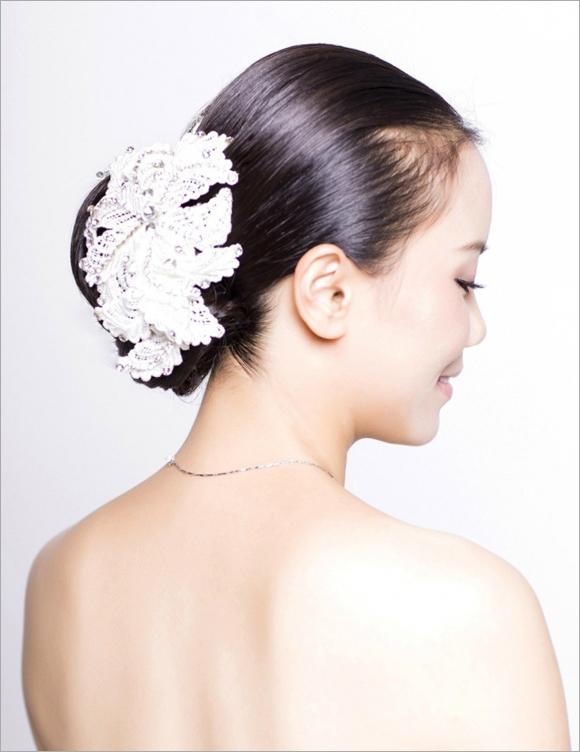 多款新娘发型盘点 哪款是你的最爱(2)_妆面赏析_影楼