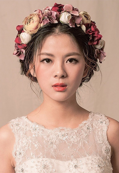 时尚洛丽塔----田园花漾新娘造型 少女装扮惹人爱